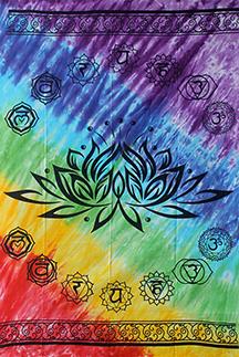 Wandteppich Lotus
